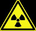 Warnung vor Radioaktivität